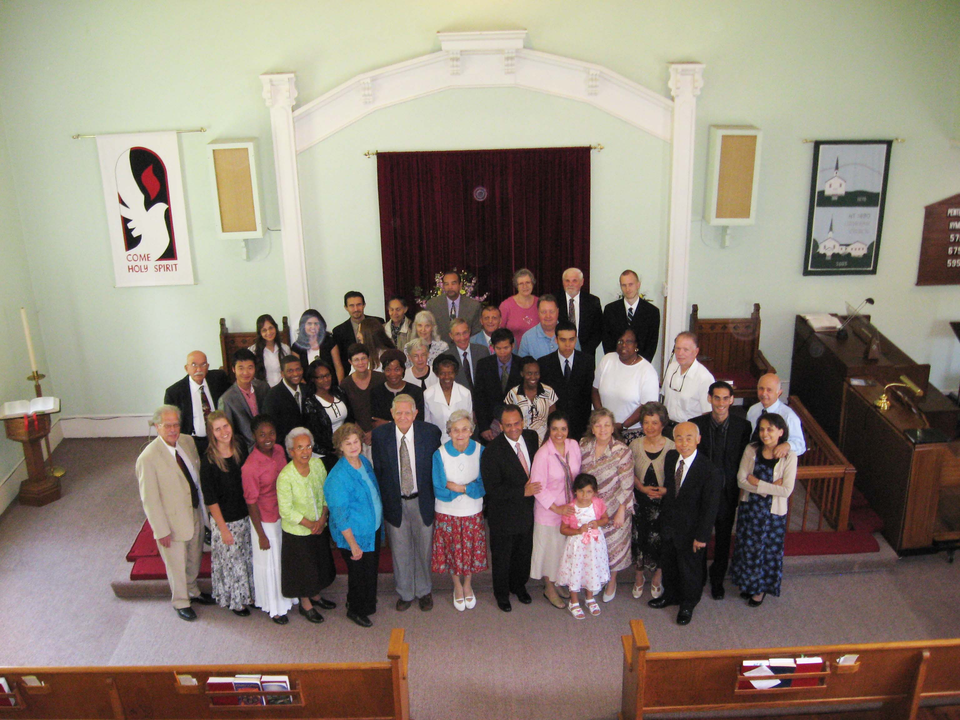 Dr. William Shea and Congregation